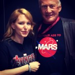 TK with Buzz Aldrin - ComiCon 2014