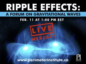 LIVE WEBINAR: LIGO and Gravitational Waves
