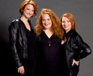 Gia Mora, Elisabeth Caren & Tamara Krinsky