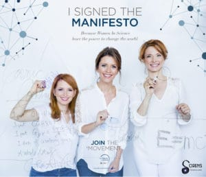 Scirens Signs For Women in Science Manifesto