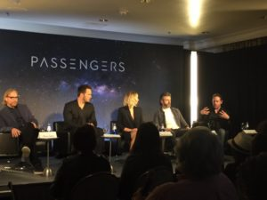 passengers press conference