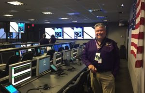 Bill Knopf in Mission Control