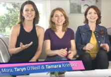Taryn O'Neill, Tamara Krinsky, and Gia Mora (The Scirens) present Element A Day in May for Everyday Science TV.